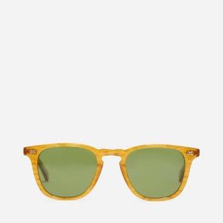 Garrett Leight Brooks 48 Square Frame Acetate Sunglasses