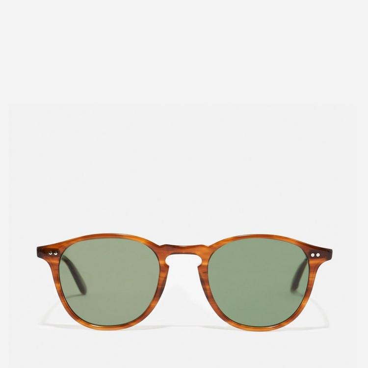 Garrett Leight Hampton 46 Round Frame Acetate Sunglasses