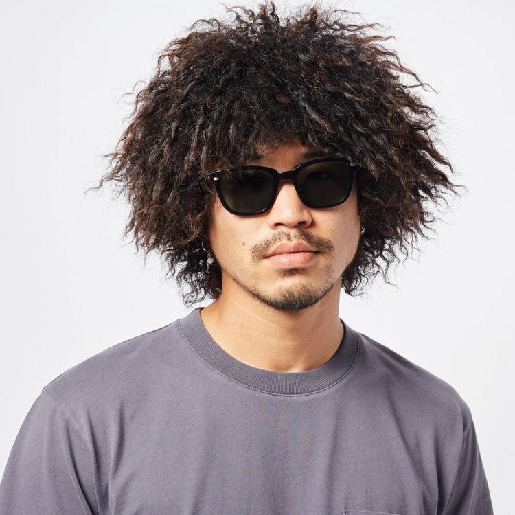 Garrett Leight Calabar Square Frame Acetate Sunglasses