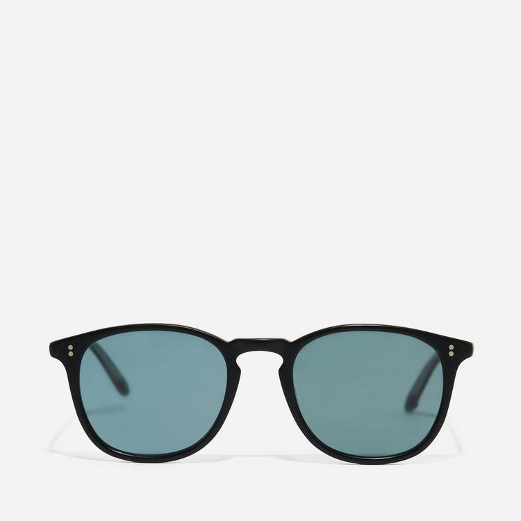 Garrett Leight Kinney 49 Round Frame Acetate Sunglasses