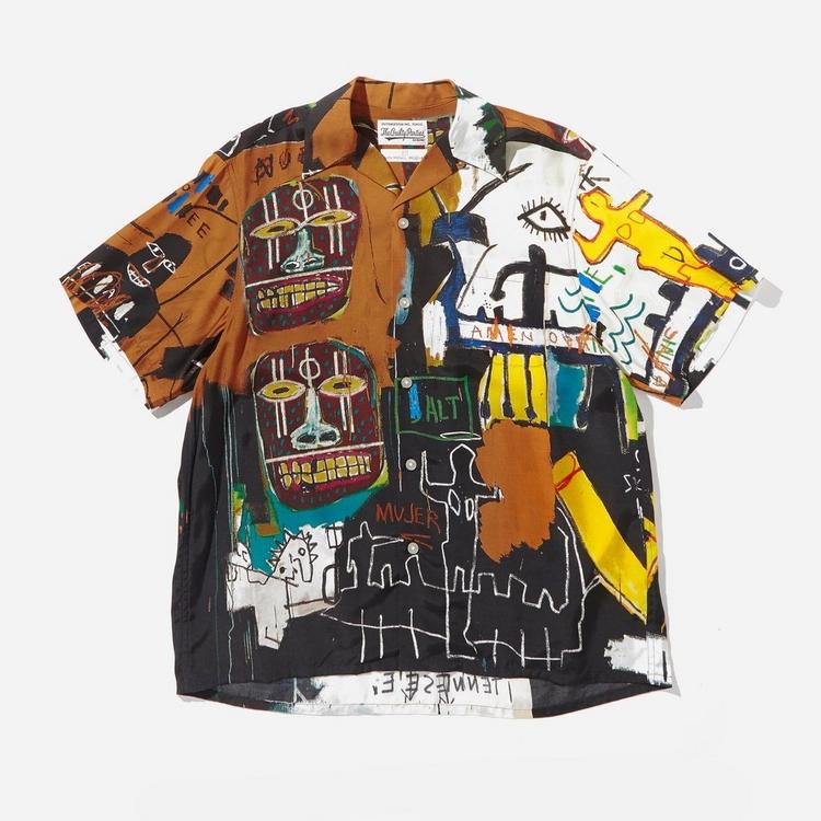 Wacko Maria x Jean Michel Basquiat Type 4 Shirt