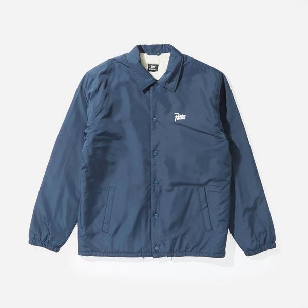 Patta Basic Sherpa Coach Jacket