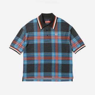 Fred Perry x Charles Jeffrey Loverboy Tartan Polo Shirt