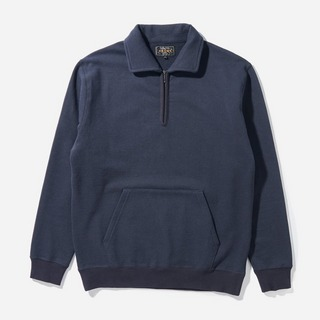 Beams Plus Half Zip Sweatshirt