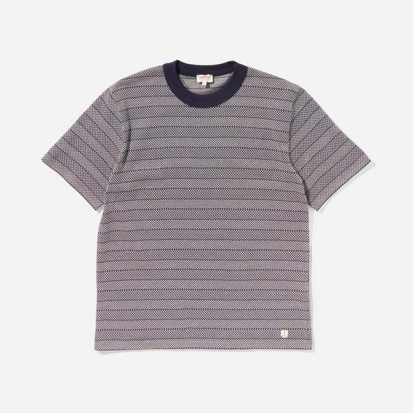 Armor Lux Jacquard Striped T-Shirt