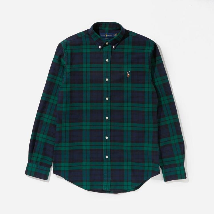 Polo Ralph Lauren Slim Fit Plaid Oxford Shirt