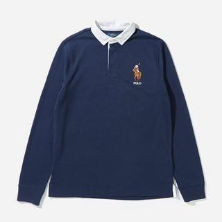 Polo Ralph Lauren Green Bear Rugby Shirt