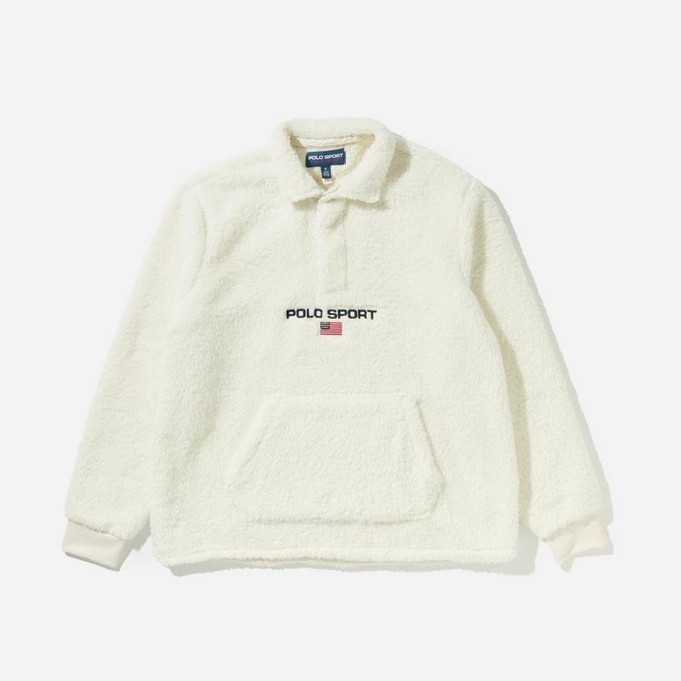 Polo Ralph Lauren Button Up Sweatshirt
