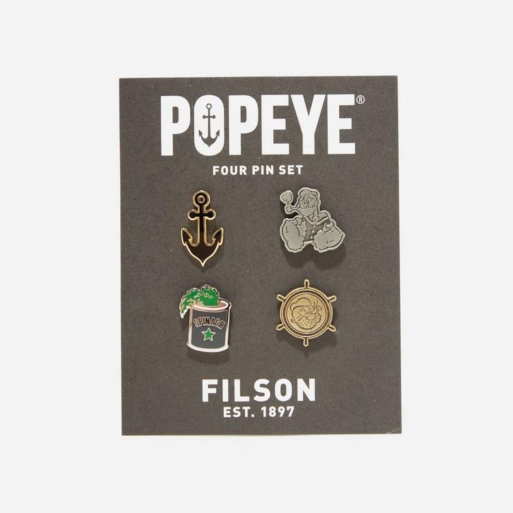 Filson Popeye Pin Set
