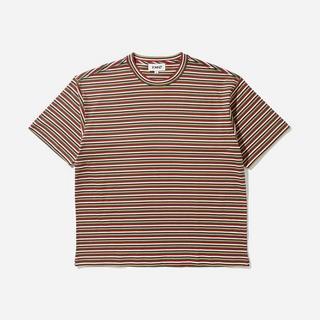 YMC Triple Stripe Organic Cotton T-Shirt