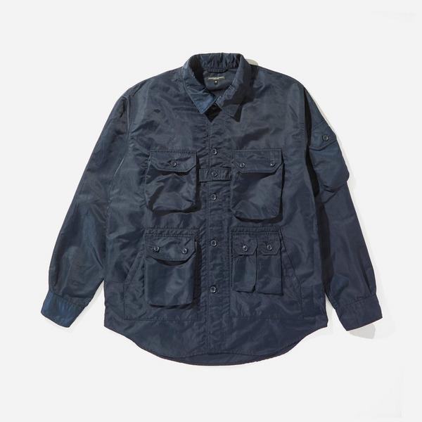 Engineered Garments Flight Satin Nylon Explorer Shirt Jacket