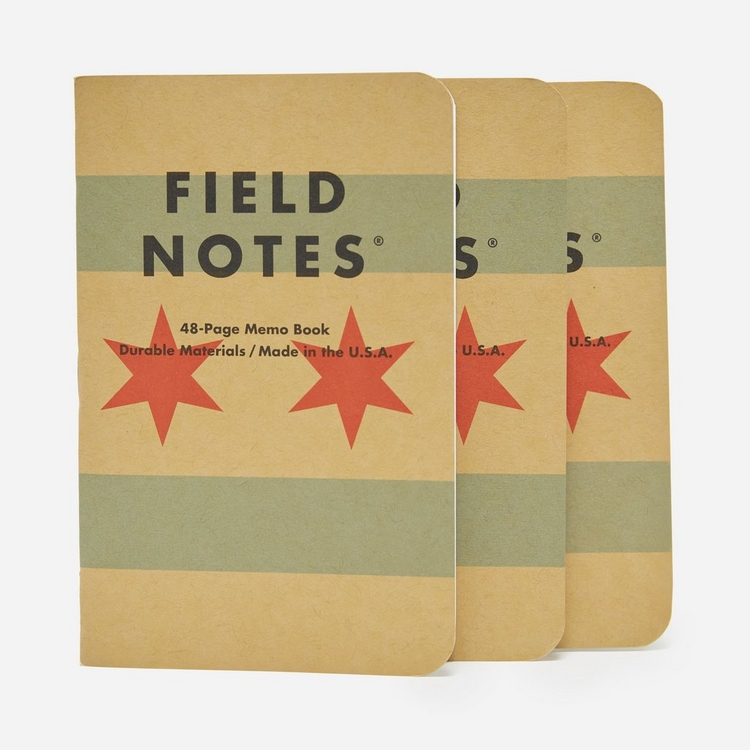 Field Notes Chicago 3 Pack