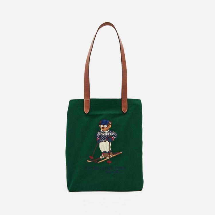 Polo Ralph Lauren Bear Shopper Tote Bag