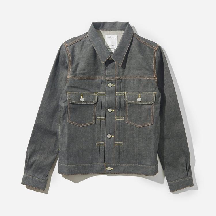 Visvim  Social Sculpture 101 Unwashed Denim Jacket