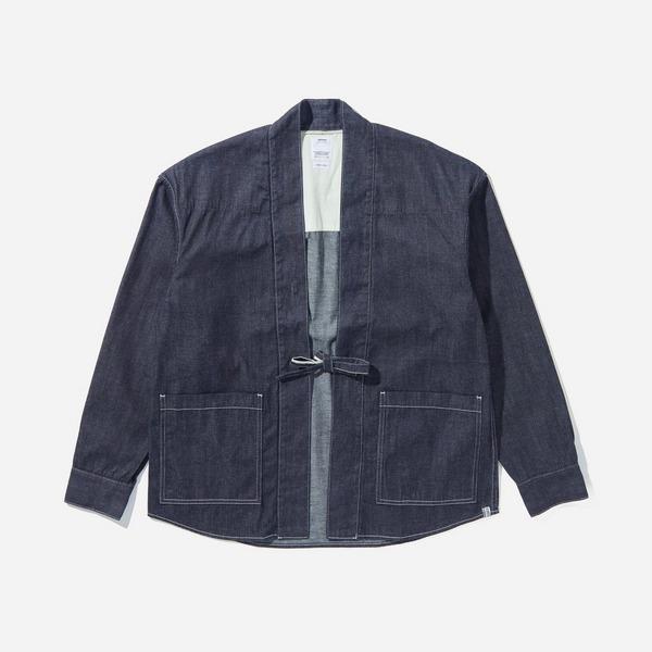 Visvim One Wash Denim Lhamo Shirt