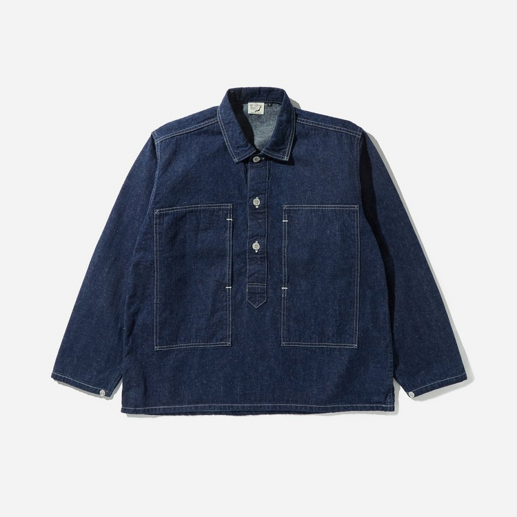 orSlow One Wash Denim PW Pullover