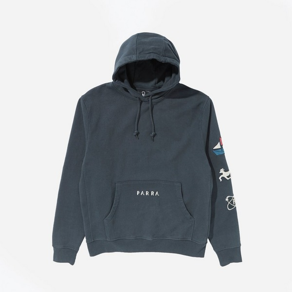 by Parra Paper Dog System Hoodie