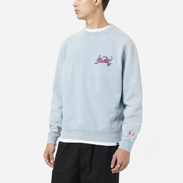 by Parra Upside Down Dog Sweatshirt