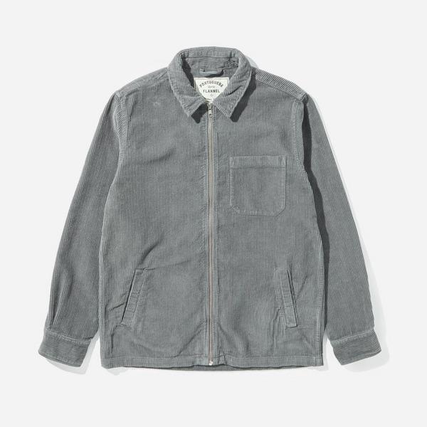 Portuguese Flannel Fecho Cord Jacket