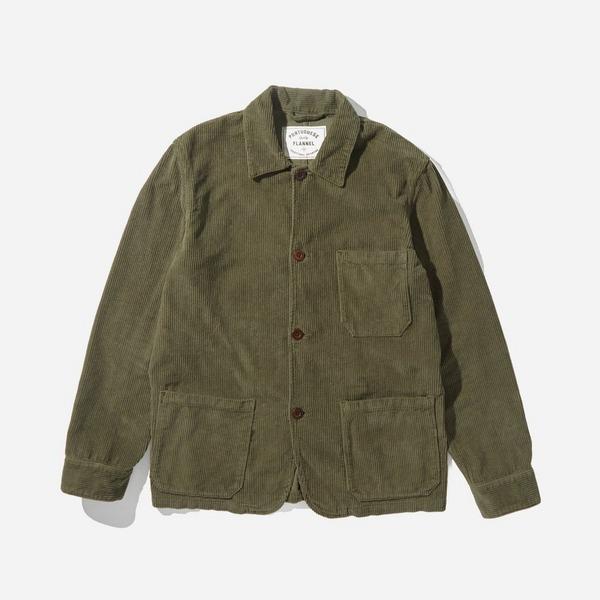 Portuguese Flannel Labura Cord Jacket