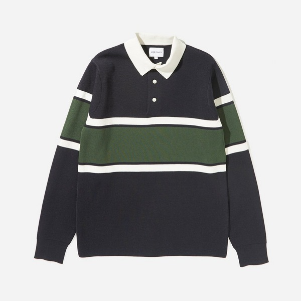 Norse Projects Ruben Knitted Polo