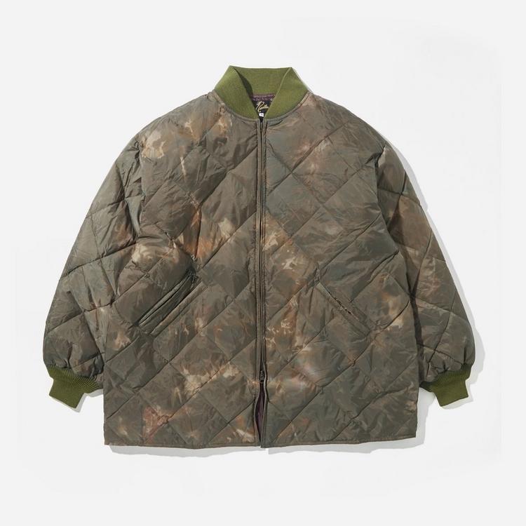 Needles Uneven Dye R.C. Down Coat Jacket