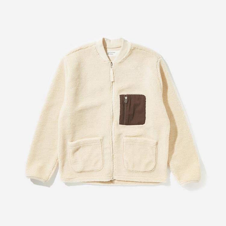 Universal Works Rocket Fleece Zip Jacket