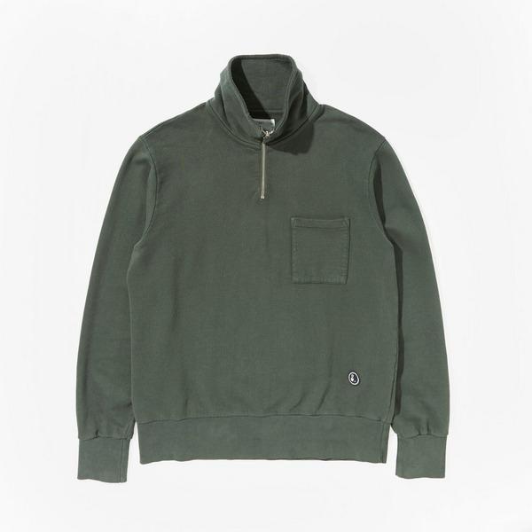 Universal Works Half Zip Sweatshirt