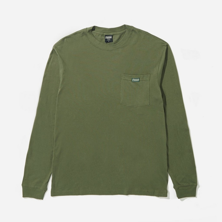 Filson Long Sleeve Pocket T-Shirt