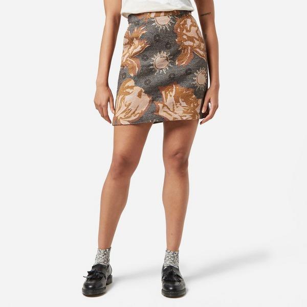 Wood Wood Iris Jacquard Skirt Women's