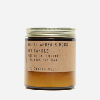 P.F. Candle Co. No.11 Amber & Moss Soy Candle 3.5oz