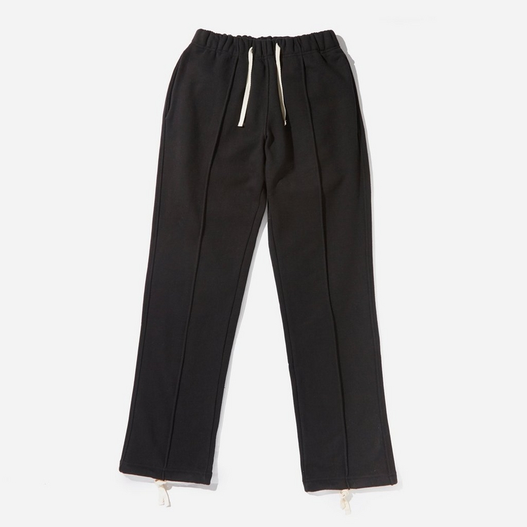 FrizmWORKS Piping Pleated Sweatpants