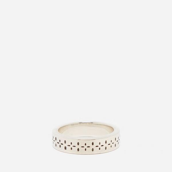 Maple Silver Bandana Ring