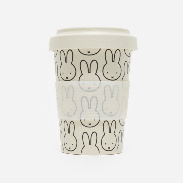 Miffy Pattern Bamboo Coffee Cup