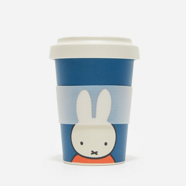 Miffy Face Bamboo Coffee Cup