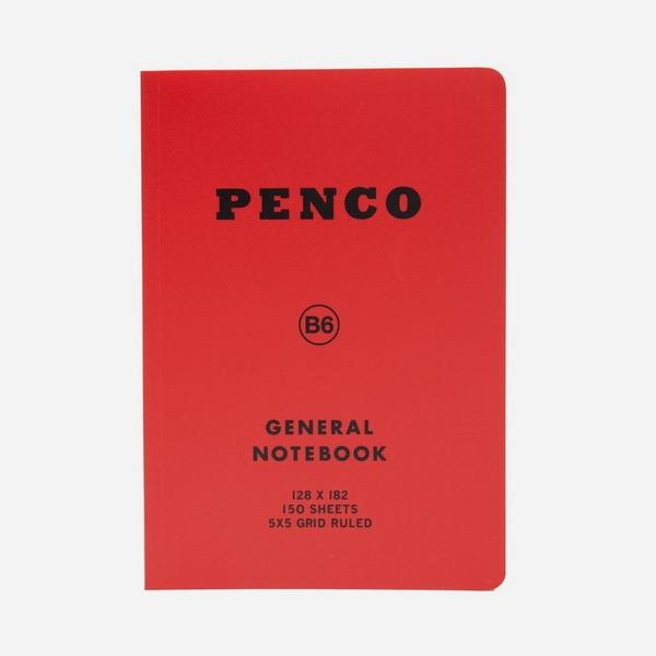 Hightide Penco Soft Notebook Grid B6