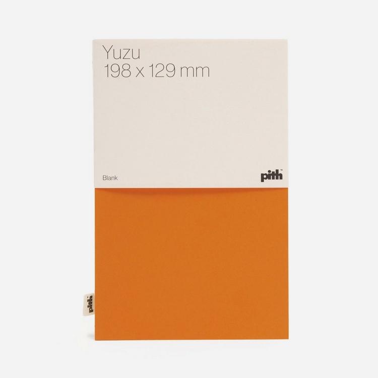 Pith Yuzu Blank Notebook
