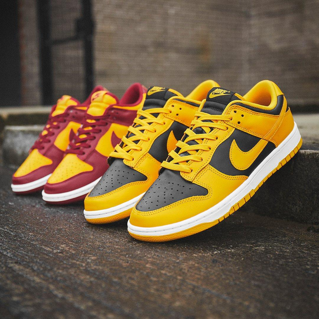 Nike Dunk Goldenrod e Midas Gold