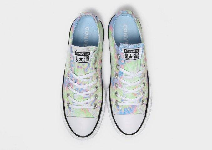 Converse All Star Ox Lift Tie Dye Donna