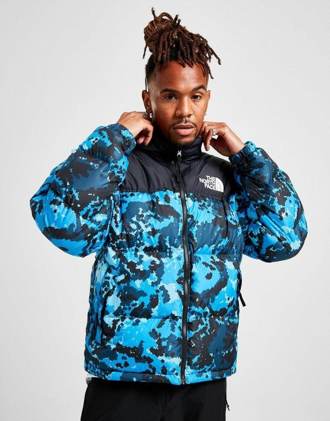 Giacca Nuptse The North Face Uomo Camouflage