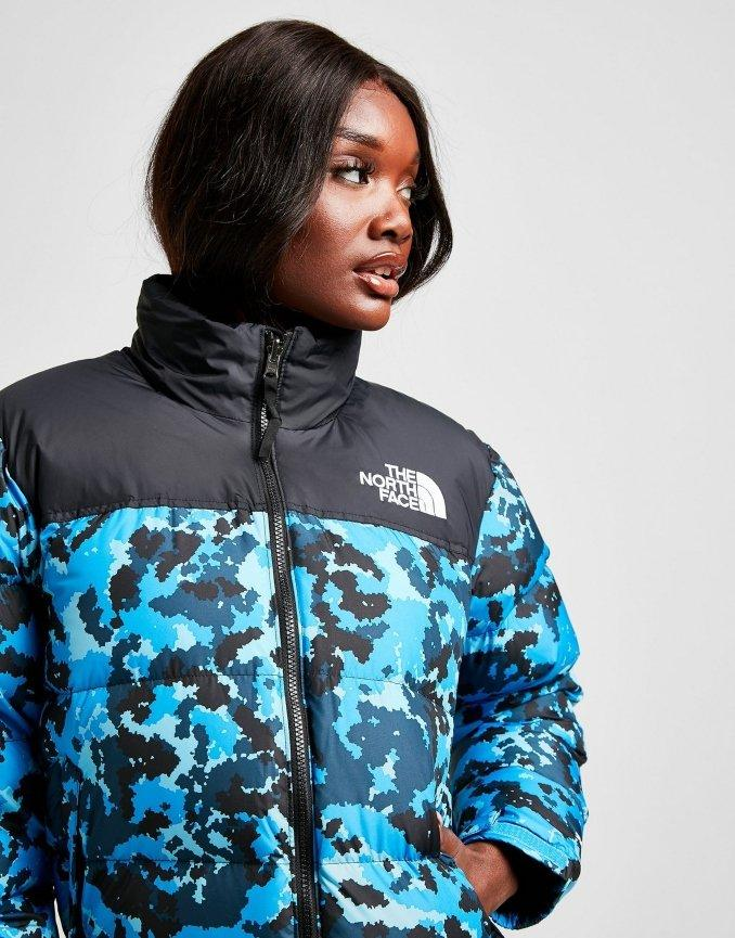 Giacca Nuptse The North Face Donna Camouflage