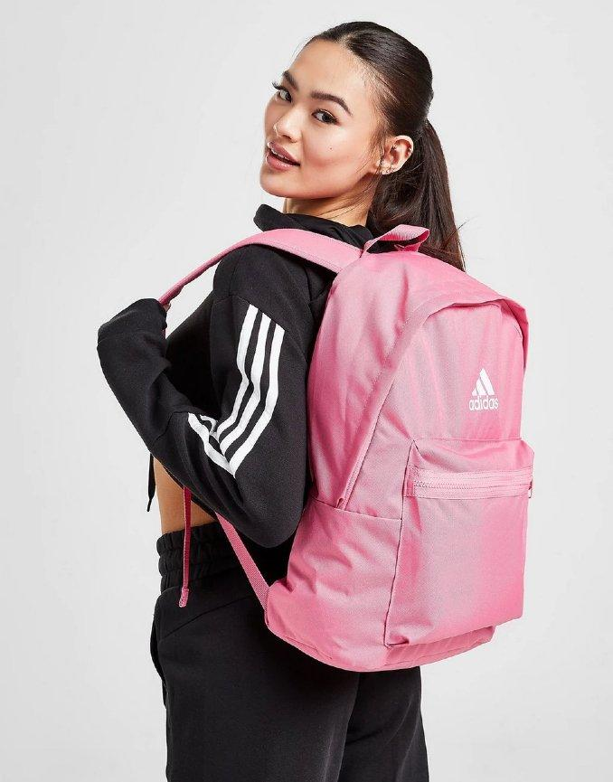 mochilas para o secundário nike rosa