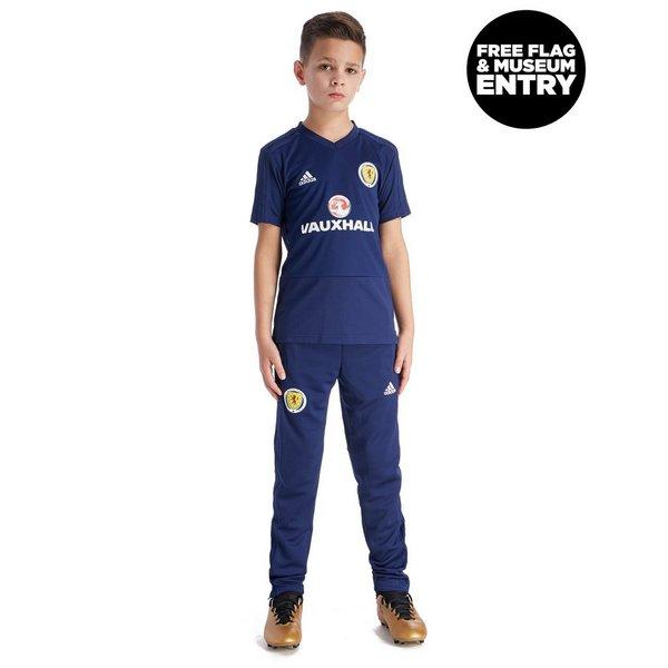 adidas Scotland FA 2018/19 Training Shirt Junior