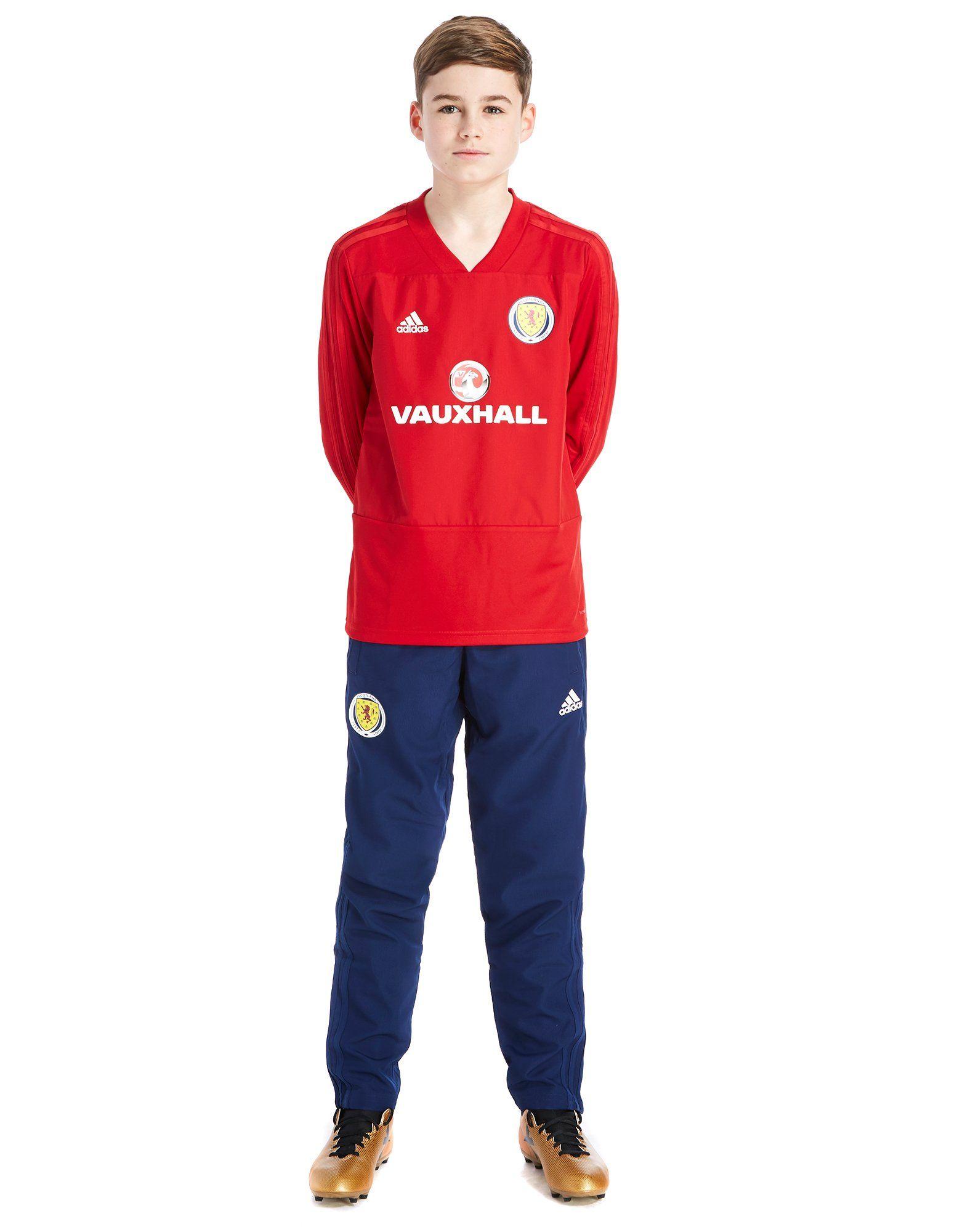 adidas Scotland FA 2018/19 Training Top Junior