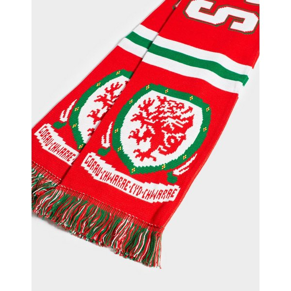 Official Team Wales Jacquard Scarf