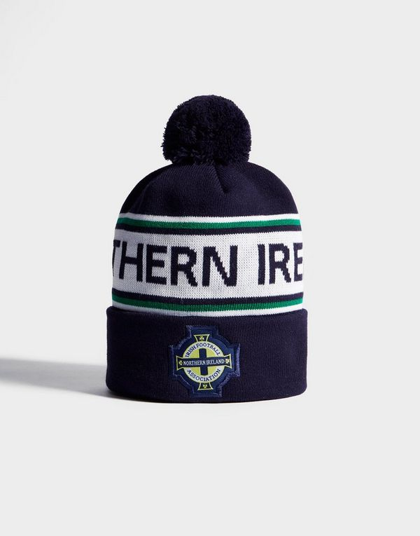 5a8f04d827a Official Team Northern Ireland Text Knitted Bobble Hat
