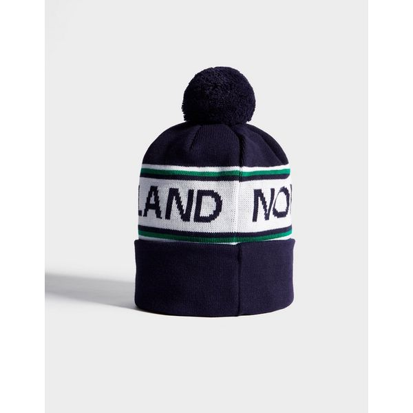 ec9688c6294 ... Official Team Northern Ireland Text Knitted Bobble Hat
