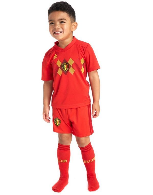 adidas Belgium 2018 Home Kit Children