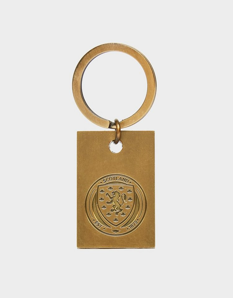 Official Team Scotland FA Vintage Keyring