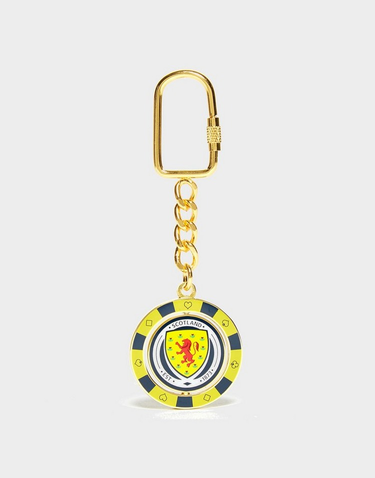 Official Team Scotland FA-pokerchipsleutelhanger